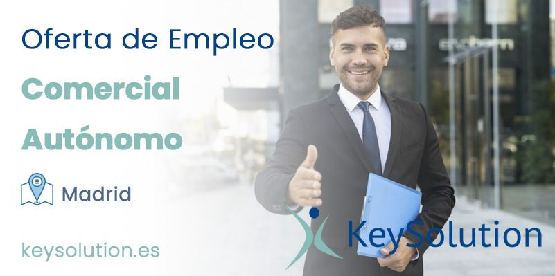 comercial autónomo empleo madrid