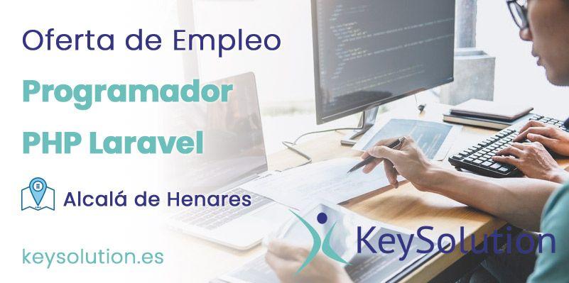 programador php laravel empleo madrid