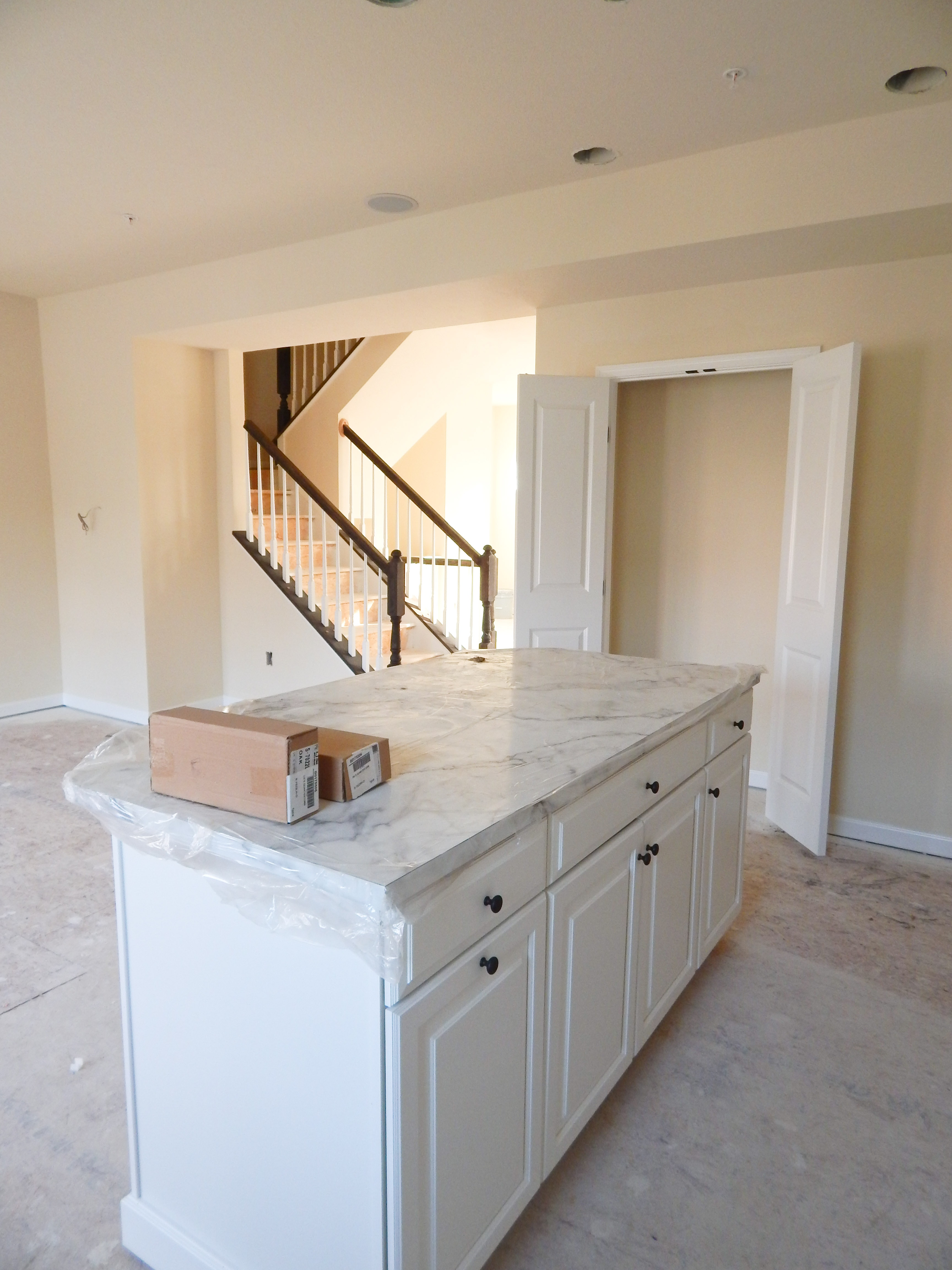Finishing touches keys to inspiration for White kitchen cabinets turning yellow