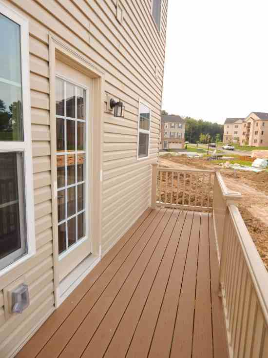 Outdoor Porch Main Level Ryan Homes Wexford