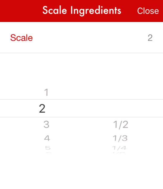 Paprika Scale Ingredients