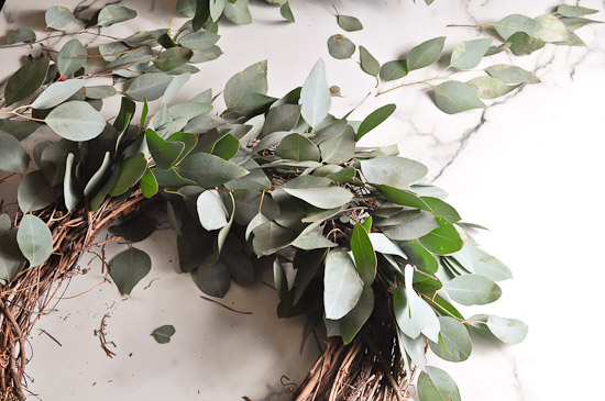 DIY Eucalyptus Wreath Tutorial-30