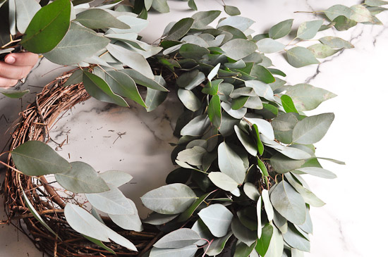 DIY Eucalyptus Wreath Tutorial-35