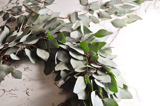 DIY Eucalyptus Wreath Tutorial-36