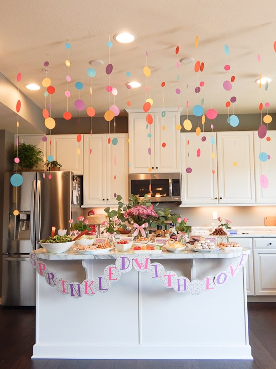 Sprinkled With Love Baby Shower