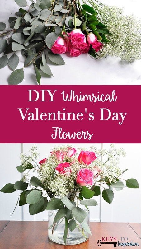 DIY Whimsical Valentine\'s Day Flowers » Keys To Inspiration