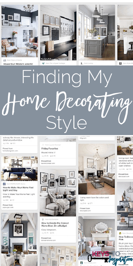 Finding My Home Decorating Style » Keys To Inspiration