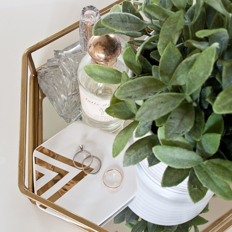 She shares some great tips for how to decorate your home on a budget!