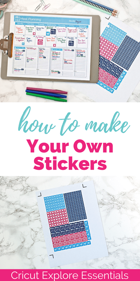 Cricut Explore Essentials How To Make Your Own Stickers  Keys To - Make your own decal paper
