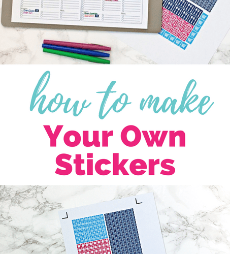 Cricut Explore Essentials: How to Make Your Own Stickers ...