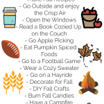 Fall Bucket List + Apple Cider Recipe!