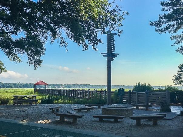 Summer vacation to disney 39 s hilton head island resort for Hilton head fishing pier