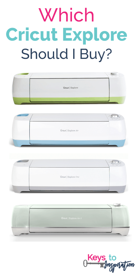 Which Cricut Explore should I buy? This post is so informative! It explains all the different Cricut Explore machines all the features of each one!