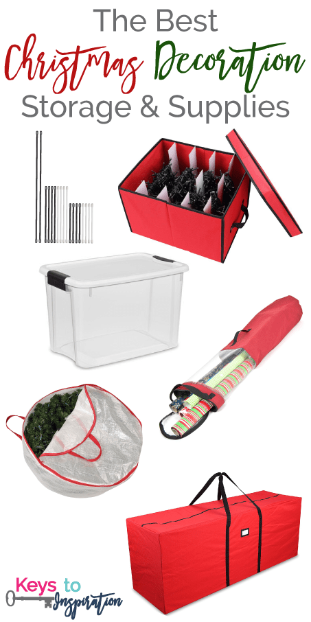 the best storage containers bins and supplies for organizing your christmas decorations