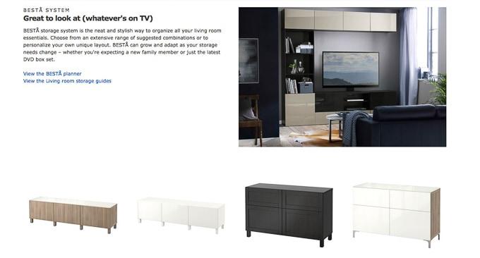 How to Design a Modern Media Center using IKEA BESTA