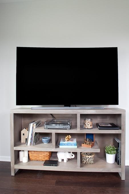 How to Design a Modern Media Center using IKEA BESTA cabinets ...