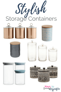 Stylish Storage Containers