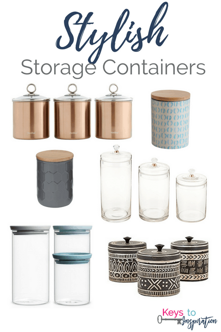 Stylish Storage Containers Keys To Inspiration