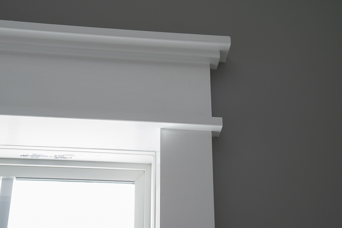 Tutorial for creating modern craftsman window trim. I love the clean crisp look of the & DIY Modern Craftsman Window Trim » Keys To Inspiration