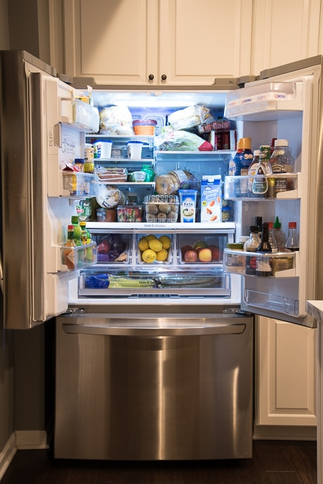 How To Organize A French Door Refrigerator. Make The Most Out Of All The  Food
