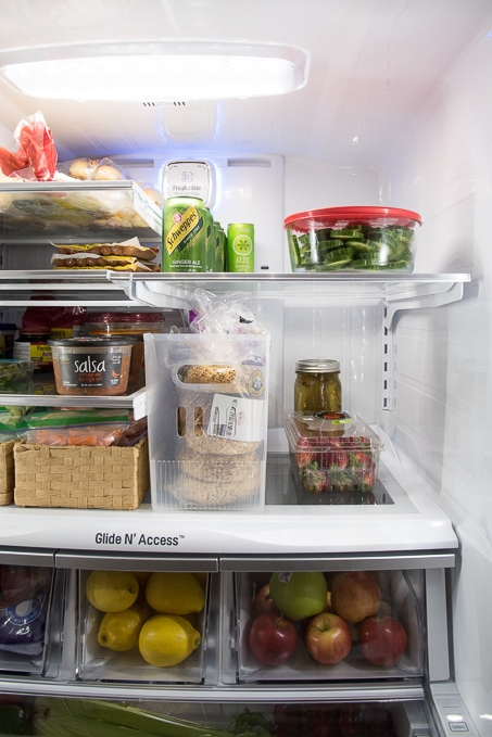 How To Organize A French Door Refrigerator Keys To Inspiration