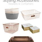 Collected Styling Accessories – Baskets & Containers