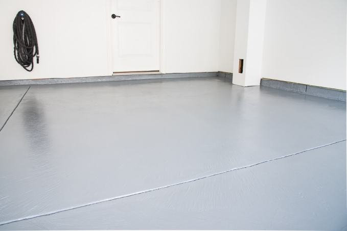 How To Refinish A Garage Floor With Rust Oleum Epoxyshield