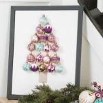 DIY Christmas Tree Ornament Art