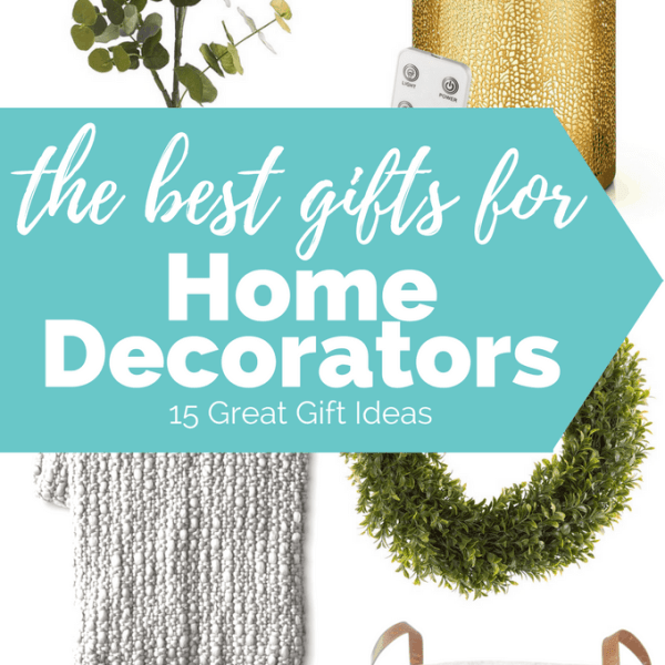 The best gifts for home decorators may not be obvious to everyone. But with this ultimate gift guide for home decorators, you'll be able to find a gift they will love!