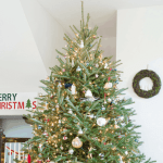 Our Traditional Fresh Christmas Tree {The Christmas Tree Blog Hop}