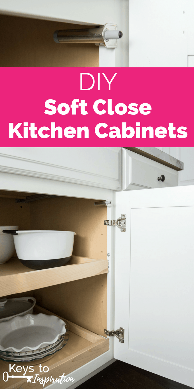 DIY Soft Close Kitchen Cabinets. Give Your Kitchen An Instant Upgrade By  Installing These Soft