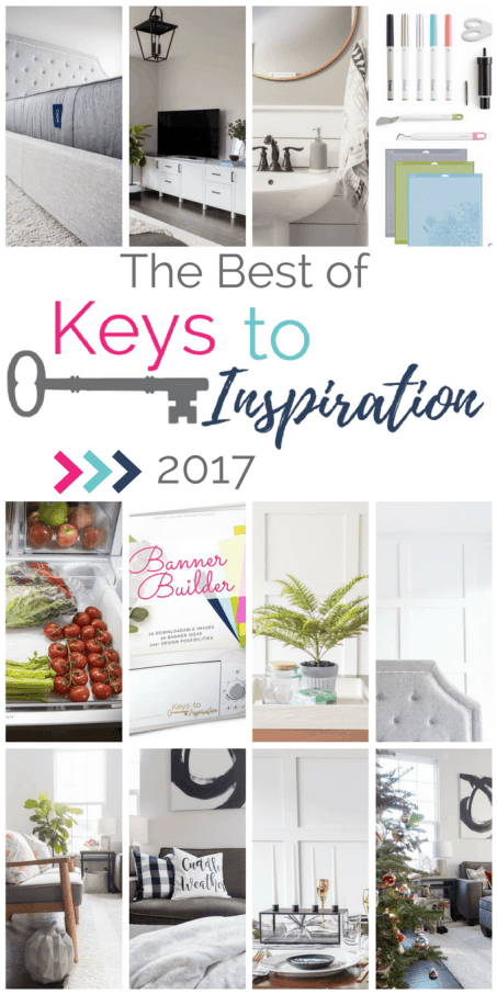The Best of Keys to Inspiration 2017 - year in review of all the best posts of 2017.