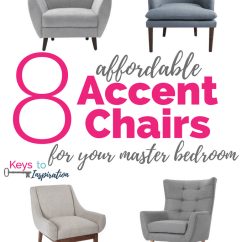 Bedroom Club Chair Couch And Covers Cheap 8 Affordable Accent Chairs For Your Master Keys To Inspiration