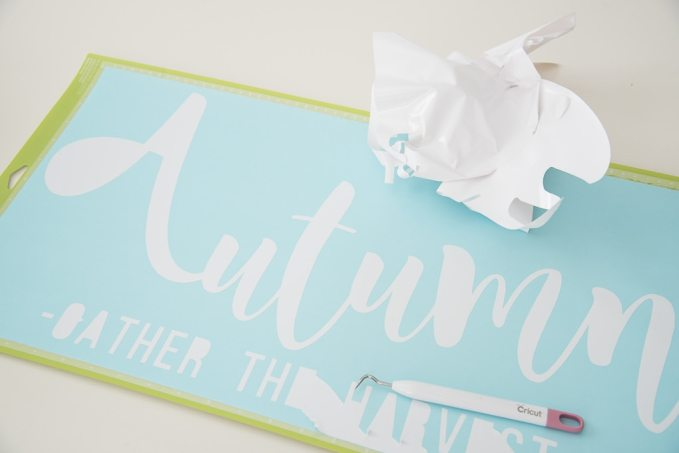 Diy Easy Autumn Wooden Sign 187 Keys To Inspiration