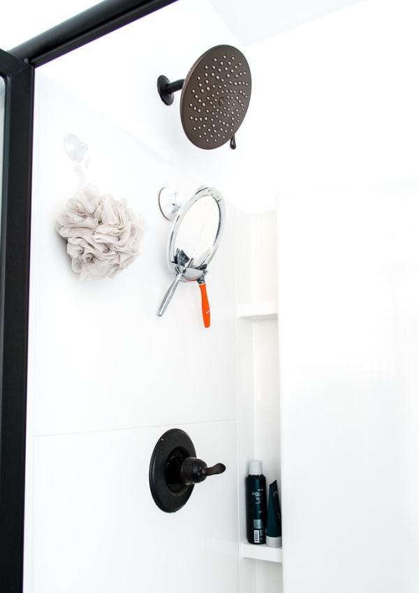 How to Easily Upgrade a Builder Grade Shower