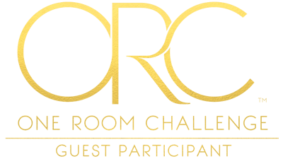 one room challenge guest participant logo gold