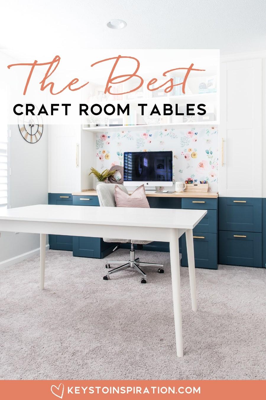 The Best Craft Room Tables Christene Holder