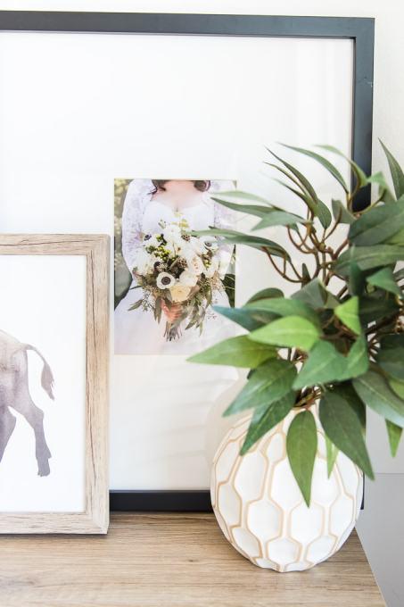 modern photo custom framed