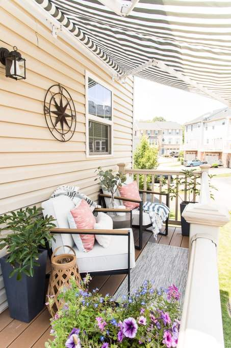modern outdoor porch design room reveal