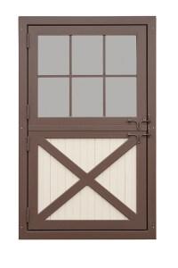 Aluminum Screen: Pre-hung Aluminum Screen Doors