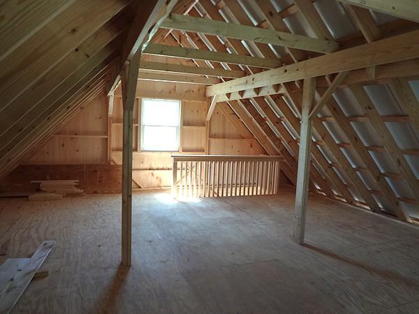 Custom Built Barn Style Garage