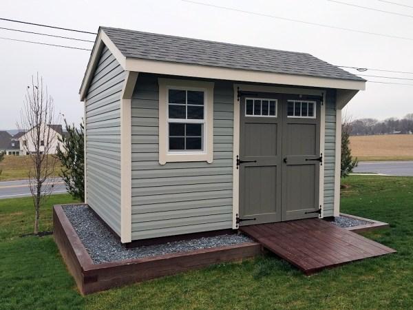 site built storage sheds garden