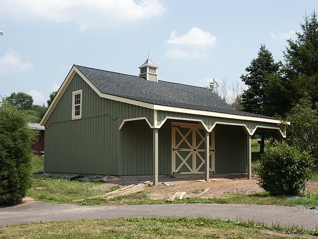 24x30 Pole Barn Built In Pennsylvania