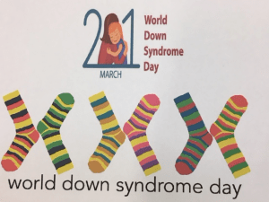 Today we Rocked our Socks for World Down Syndrome Day!