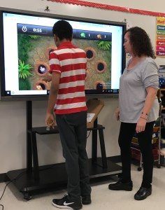 Learning new technology.