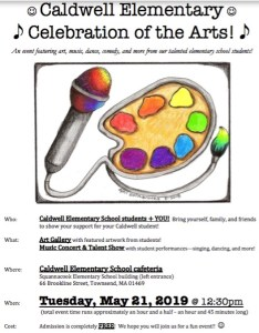 Caldwell Elementary Arts Celebration 2019