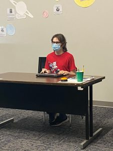 Student prepared to learn
