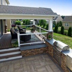 How To Make An Outdoor Kitchen Wire Cart Kitchens Bbq Islands Pa Md De Nj Ny Your Cooking Environment More Scenic With From Keystone Custom Decks