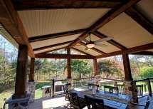 Custom Timbertech Deck Barnwood Porch - Lincoln