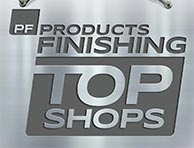 Top Shop metal finishing logo